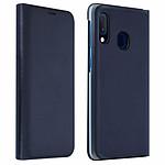 Avizar Etui folio Bleu Nuit pour Samsung Galaxy A20e
