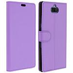Avizar Etui folio Violet pour Sony Xperia 10 Plus