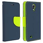Avizar Etui folio Bleu Nuit pour Samsung Galaxy S4