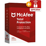 McAfee Total Protection + Safe Connect - Licence 1 an - 10 postes - A télécharger