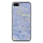 1001 Coques Coque silicone gel Apple IPhone 8 motif Marbre Bleu