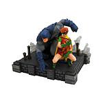The Dark Knight Returns - Statuette  DC Comic Gallery Batman & Robin 20 cm