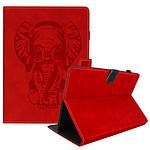 Avizar Etui folio Rouge pour Tablettes jusqu'à une taille maximale de 190 x 120 mm