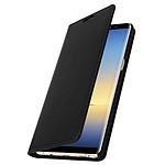 Avizar Etui folio Noir pour Samsung Galaxy Note 8