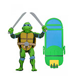 Les Tortues ninja : Turtles in Time - Figurine Leonardo 18 cm