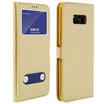 Avizar Etui folio Dorée pour Samsung Galaxy S8 Plus
