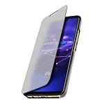 Avizar Etui folio Argent pour Huawei Mate 20 lite