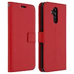 Avizar Etui folio Rouge pour Huawei Mate 20 lite