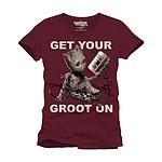 Les Gardiens de la Galaxie 2 - T-Shirt Get Your Groot On  - Taille XL