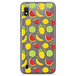 1001 Coques Coque silicone gel Samsung Galaxy A10 motif Fruits tropicaux