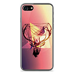 1001 Coques Coque silicone gel Apple IPhone 8 motif Cerf Hipster