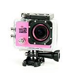 Yonis Caméra sport waterproof Rose Y-3372