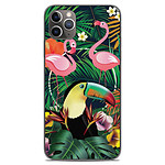 1001 Coques Coque silicone gel Apple iPhone 11 Pro Max motif Tropical Toucan