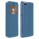 Avizar Etui folio Bleu pour Huawei Y5 2018 , Honor 7S