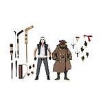 Les Tortues ninja - Pack 2 figurines Casey Jones & Raphael in Disguise 18 cm