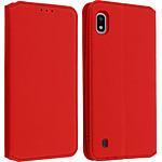 Avizar Etui folio Rouge pour Samsung Galaxy A10