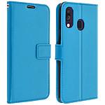 Avizar Etui folio Turquoise pour Samsung Galaxy A40