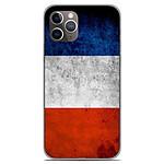 1001 Coques Coque silicone gel Apple iPhone 11 Pro motif Drapeau France