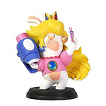 ubisoft     figurine mario lapins cretins kingdom battle peach 15cm     noir