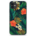 1001 Coques Coque silicone gel Apple iPhone 11 motif Tropical