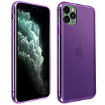 Avizar Coque Violet Souple pour Apple iPhone 11 Pro Max