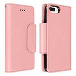 Étui iPhone 6 et 6S Plus 7 Plus 8 Plus Amovible rose