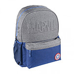 Marvel - Sac à dos High School Logo Captain America Star