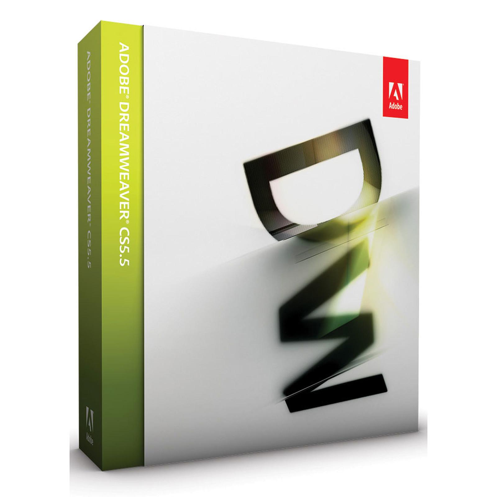 Adobe Dreamweaver CS5.5 - Mise à jour depuis CS5 (français, WINDOWS)