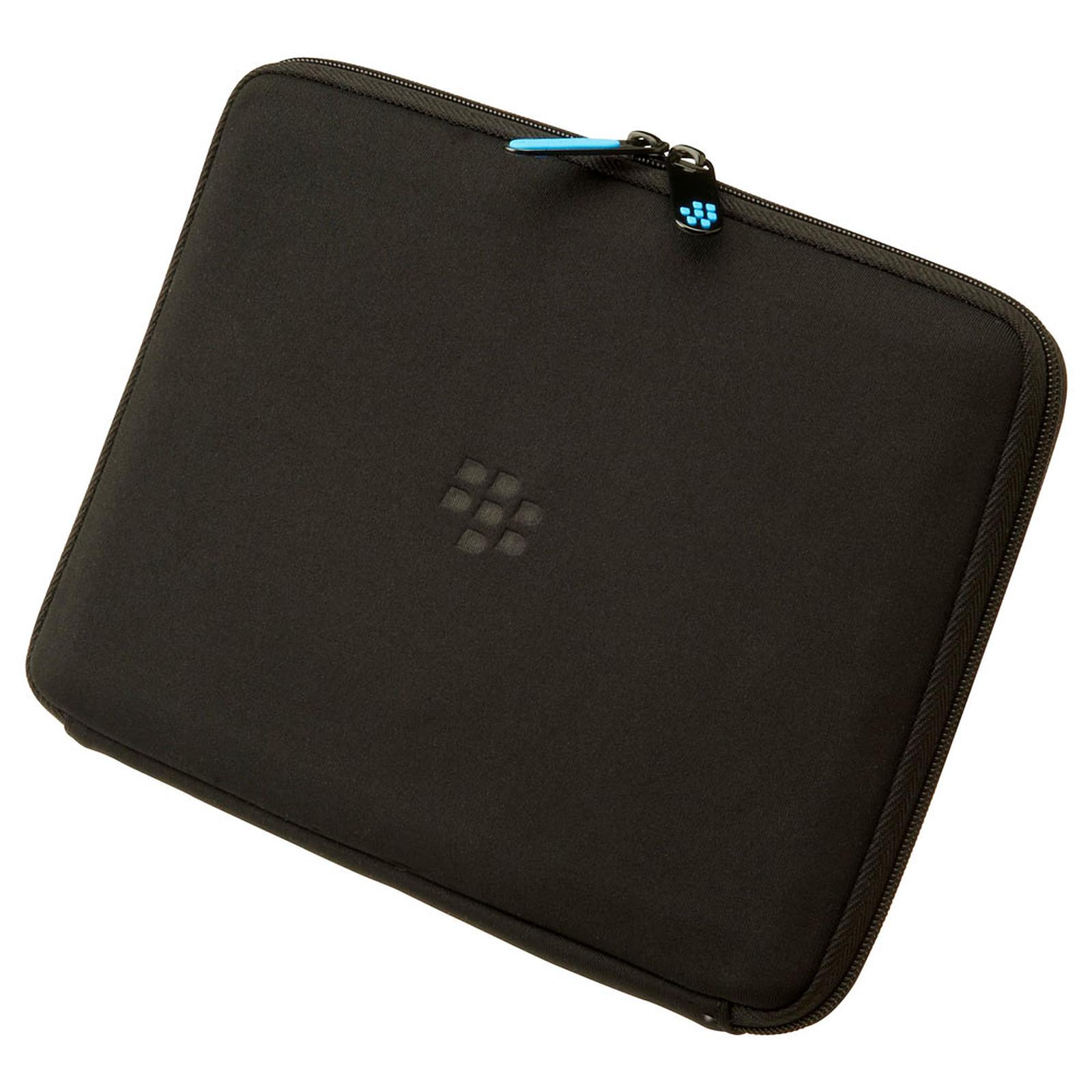 BlackBerry PlayBook Zip Sleeve Noir/Bleu