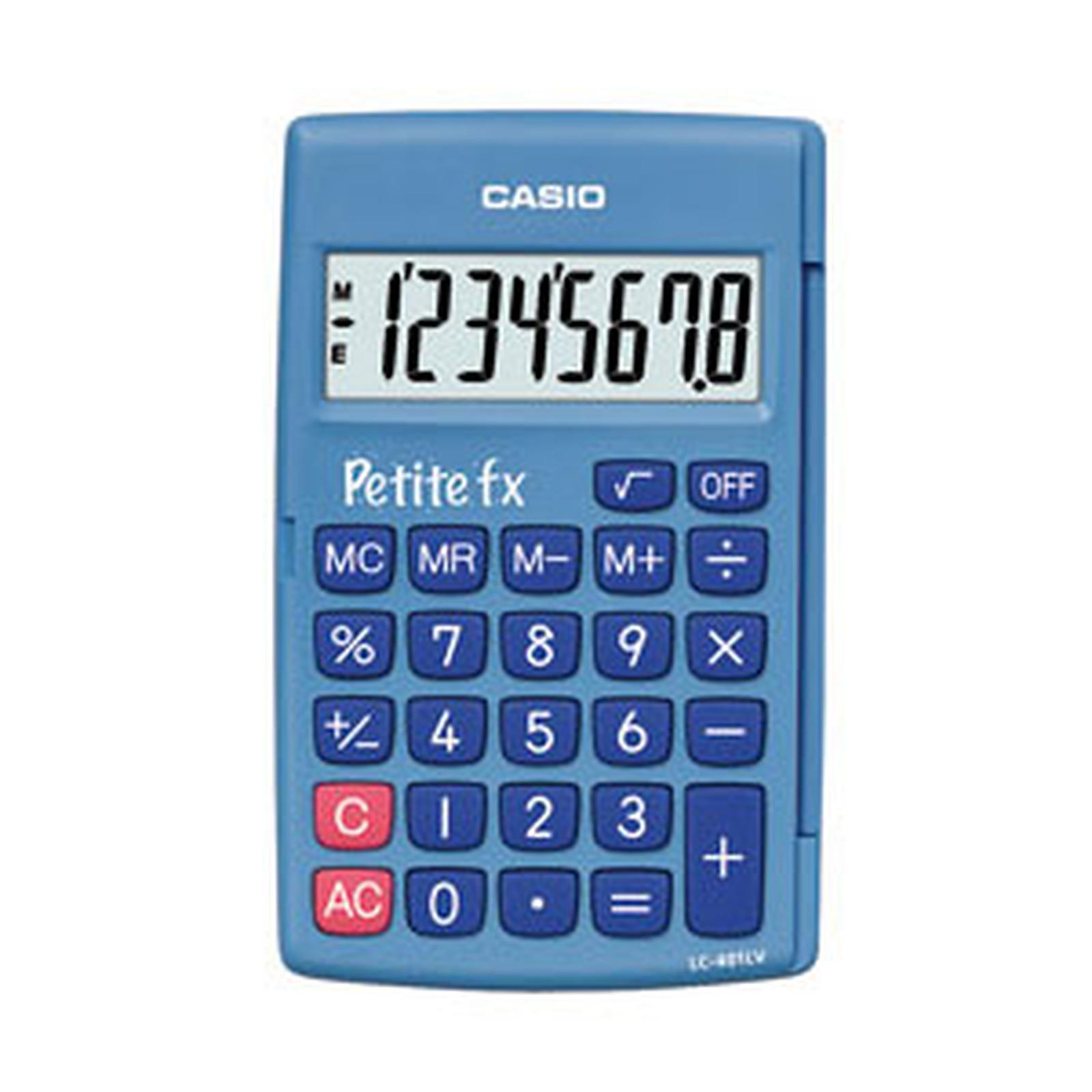 Casio Petite FX Blue - Calculadora de bolsillo de CP a CE2