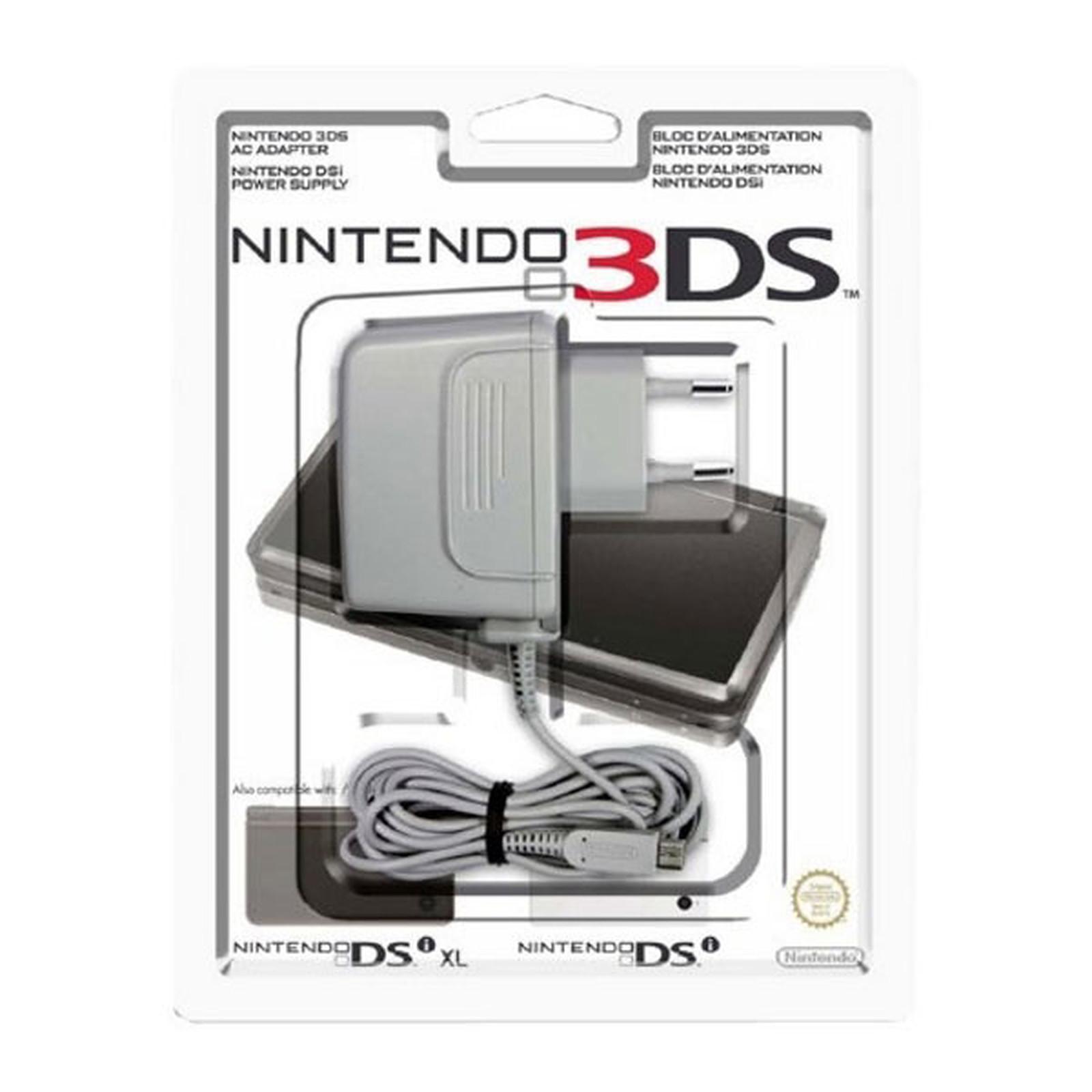 Nintendo bloc d'alimentation para 3DS/DSi/DSi XL/New 3DS et New 3DS XL