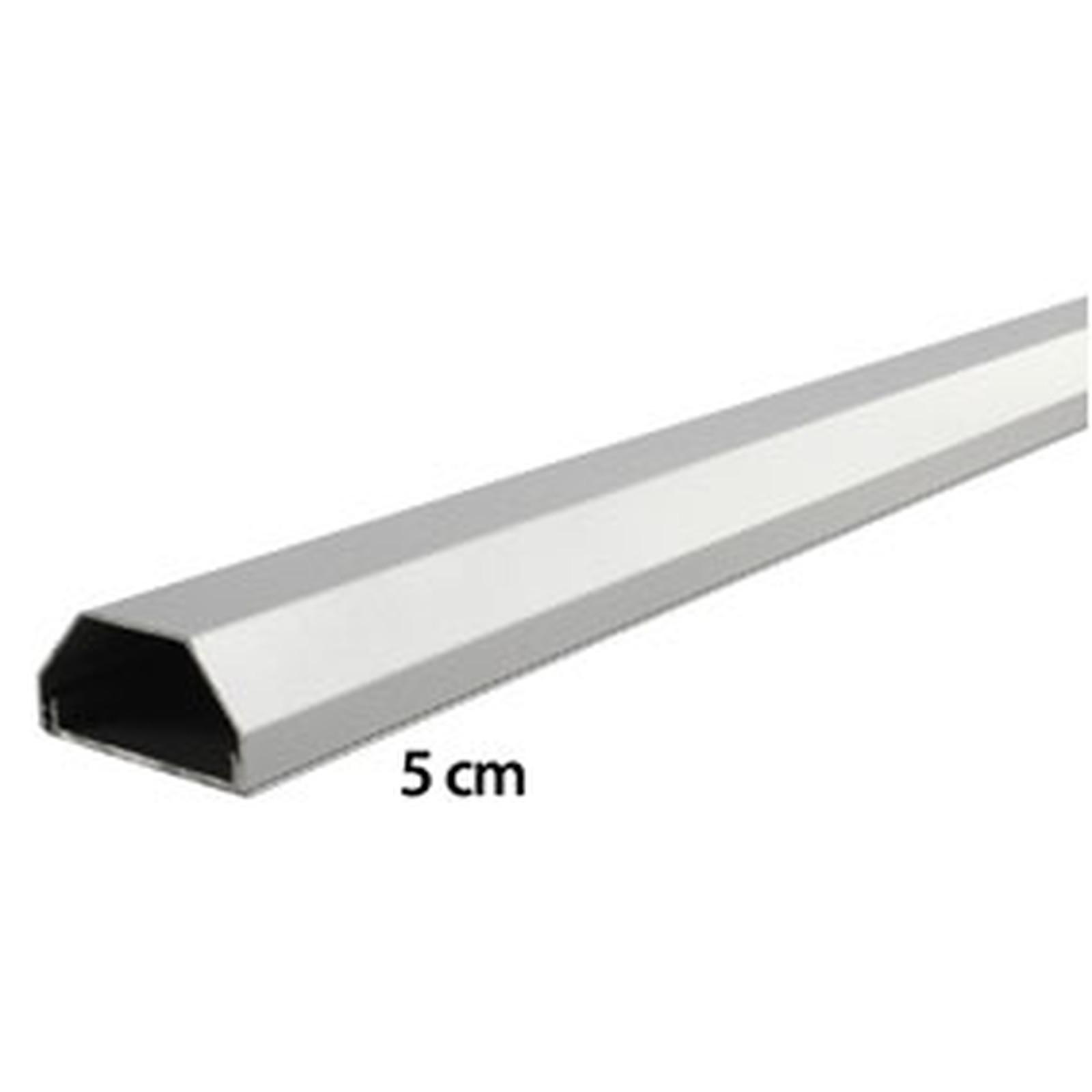 Goulotte Pour Plafond goulotte cache-câbles (110 x 5 cm) - (coloris gris) - passe