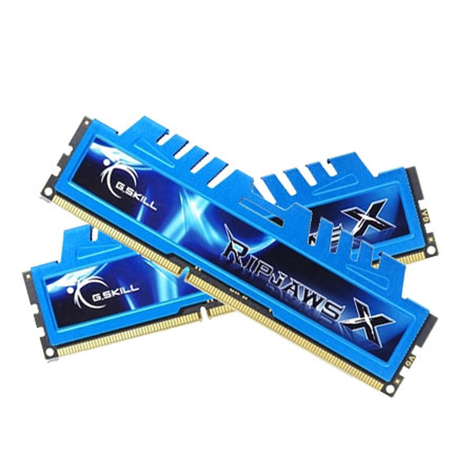 G.Skill RipJaws X Series 8 Go (2x 4 Go) DDR3L 1600 MHz CL9 DIMM 240 pins