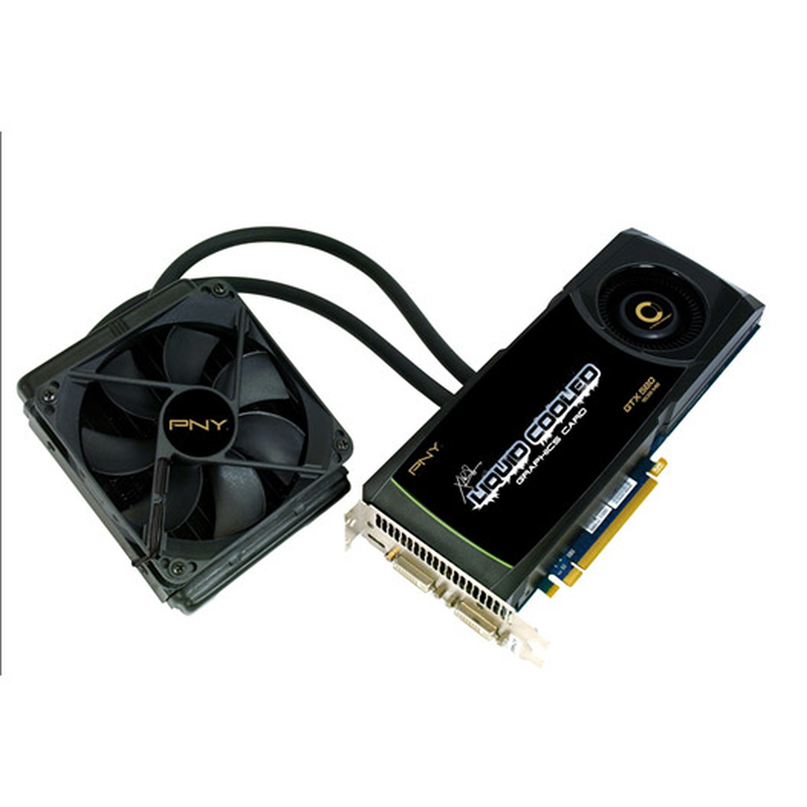 PNY GeForce GTX 580 XLR8 Liquid Cooled 1536 MB
