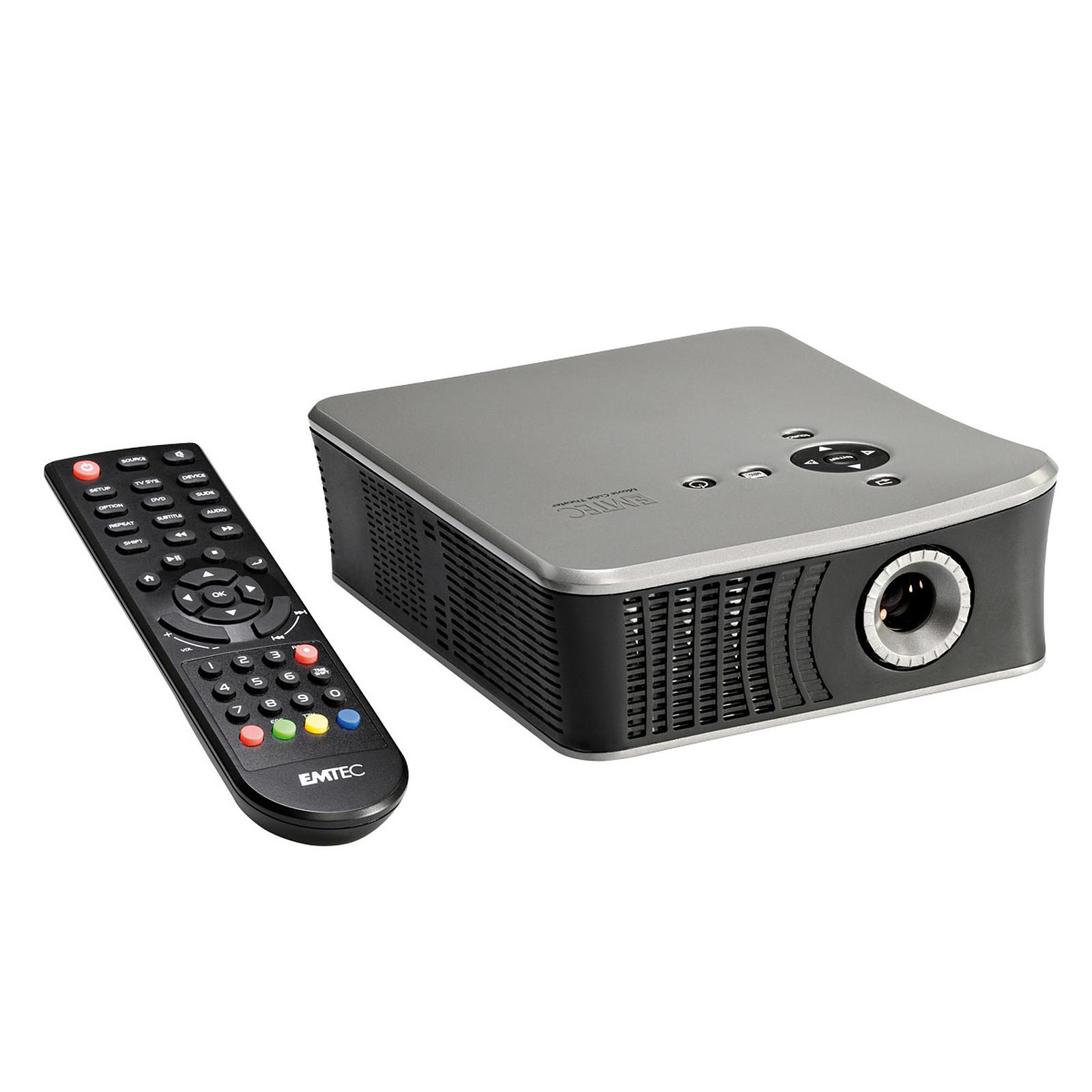 Videoprojecteur Avec Tuner Tv emtec movie cube theater t800 - vidéoprojecteur emtec sur