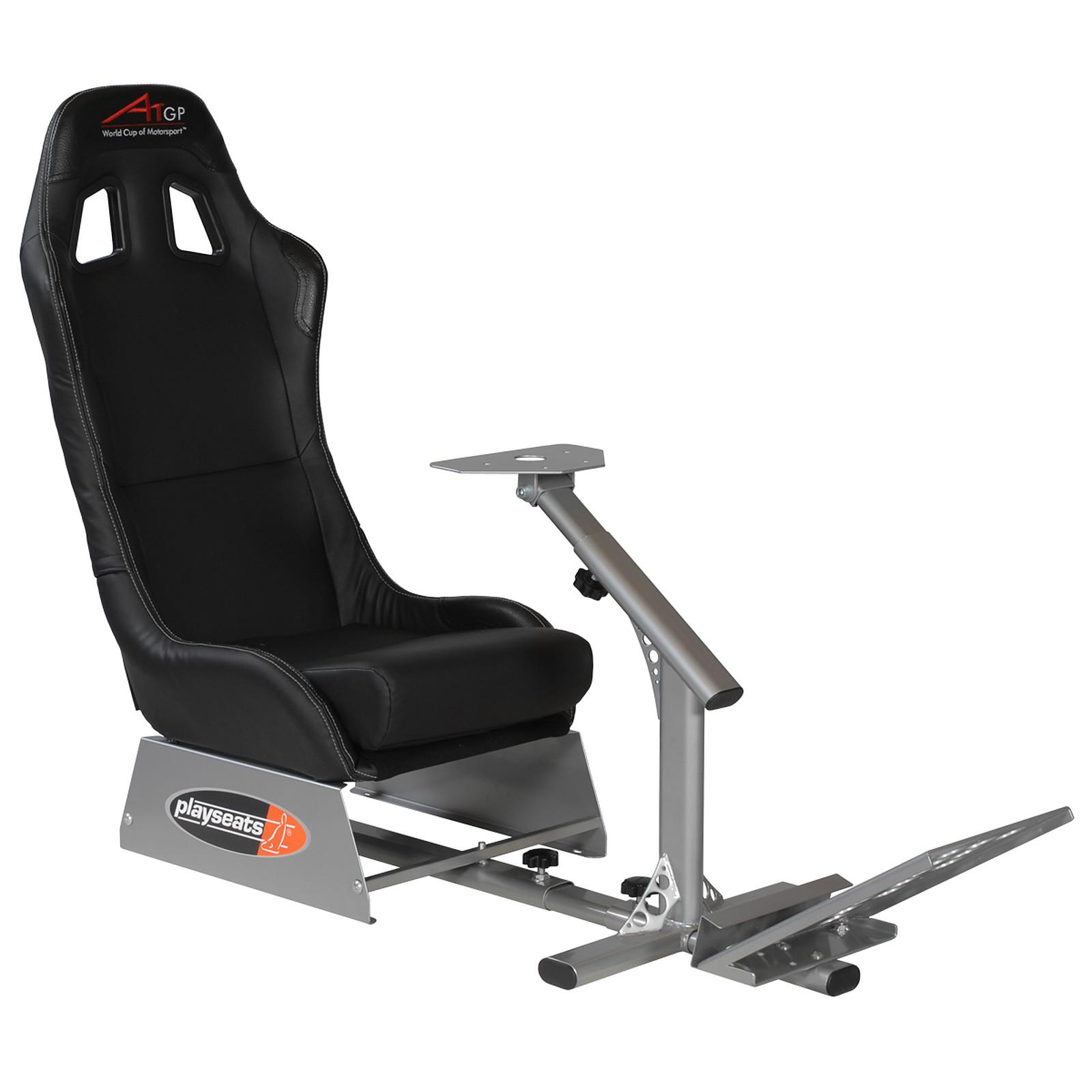playseats a1gp si ge simulation automobile noir base argent pc ps3 xbox 360 accessoires xbox. Black Bedroom Furniture Sets. Home Design Ideas