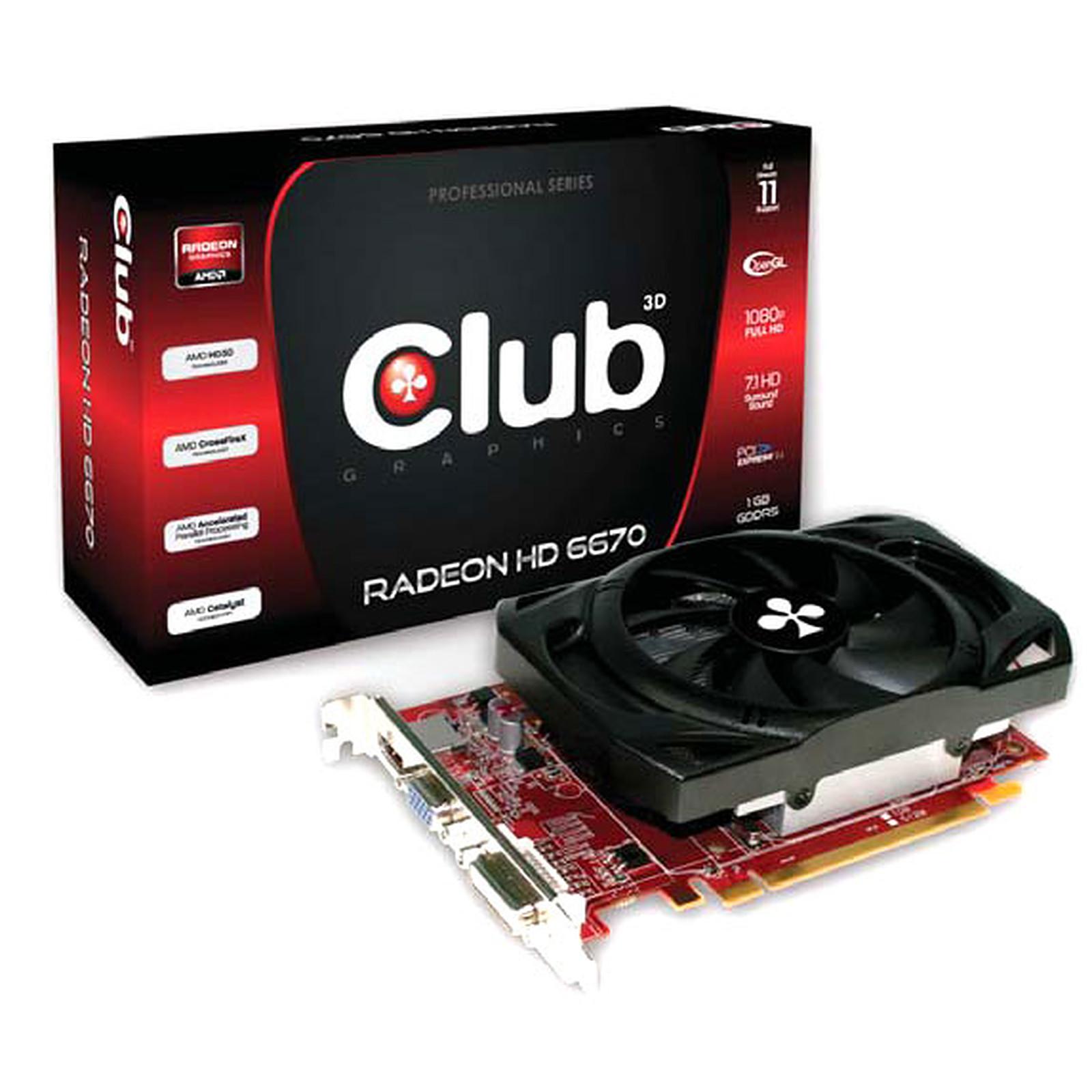 Club 3D Radeon HD 6670 1 GB GDDR5
