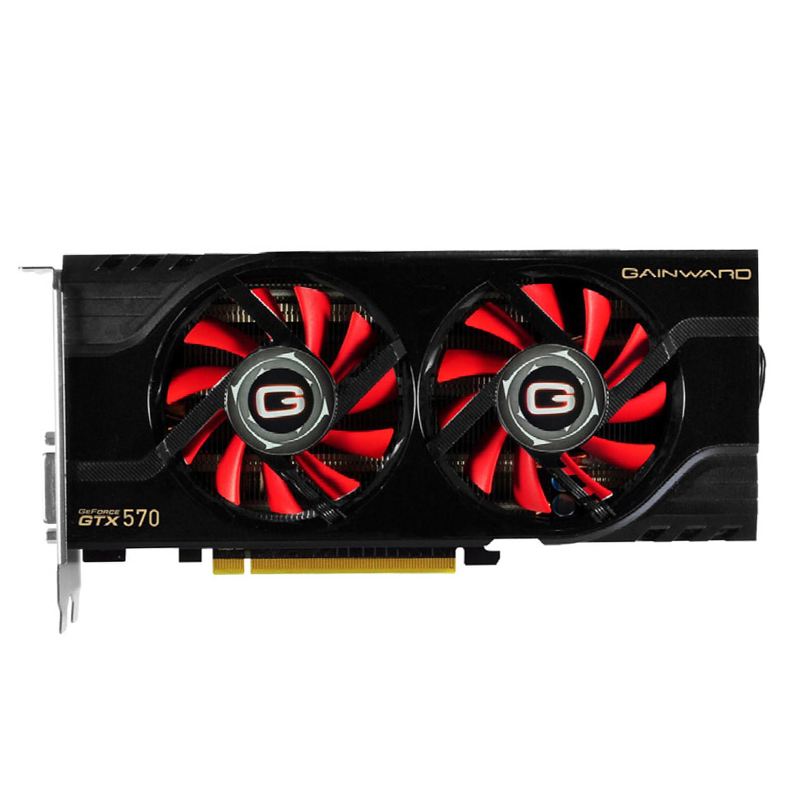 Gainward GeForce GTX 570 1280 MB DisplayPort