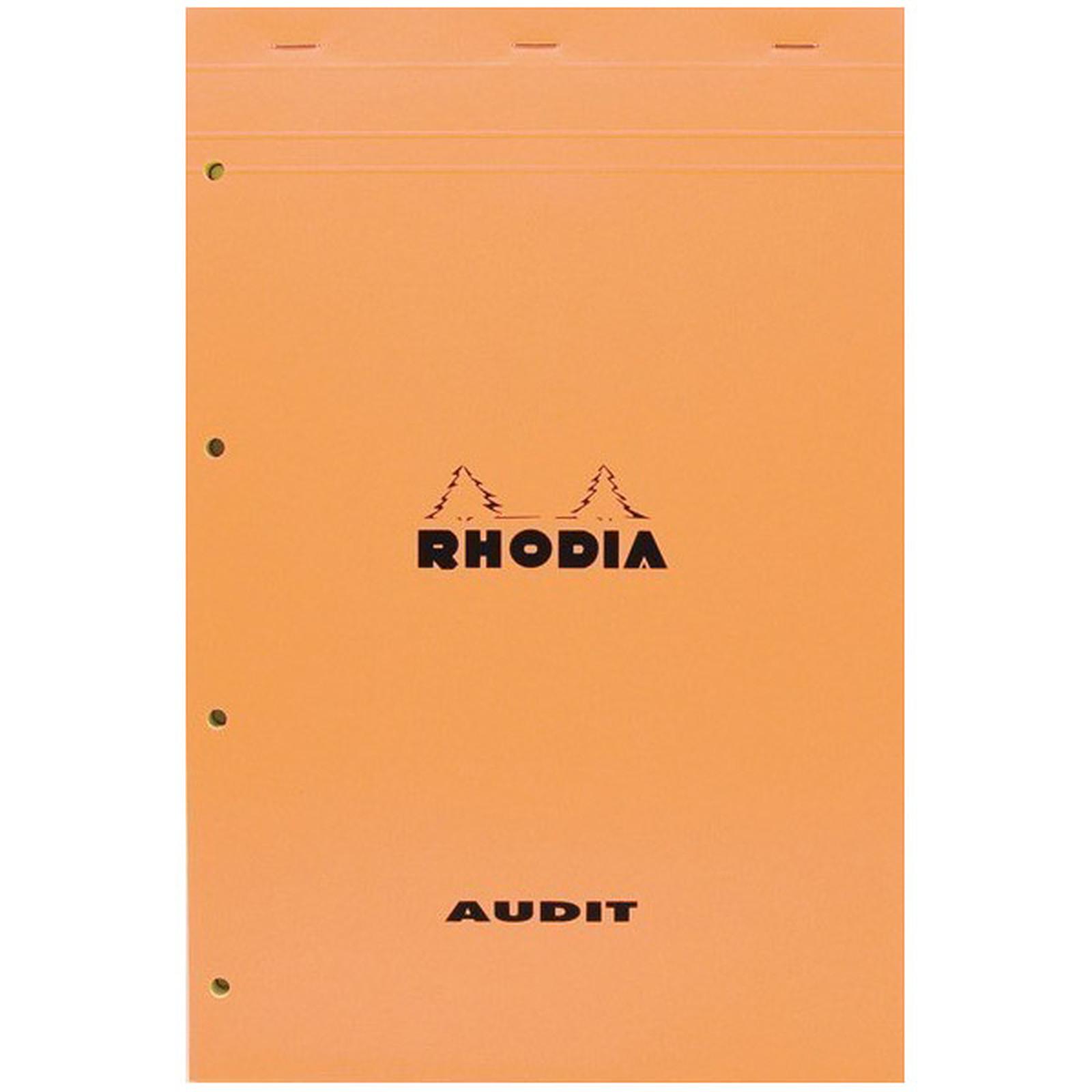 Rhodia Bloc quadrillé 5 x 5 80 feuillets micro-perforés détachables