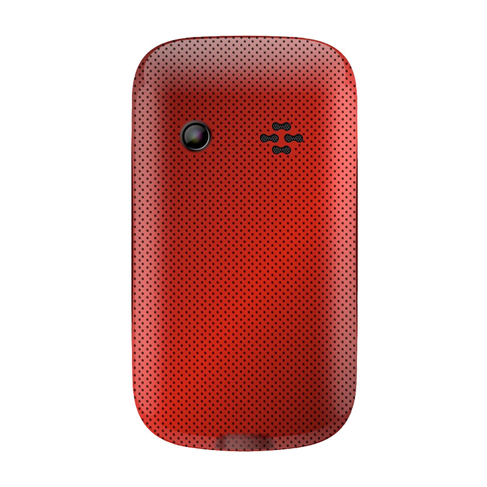 Wiko Minz Rouge - Mobile & smartphone Wiko sur LDLC   Muséericorde