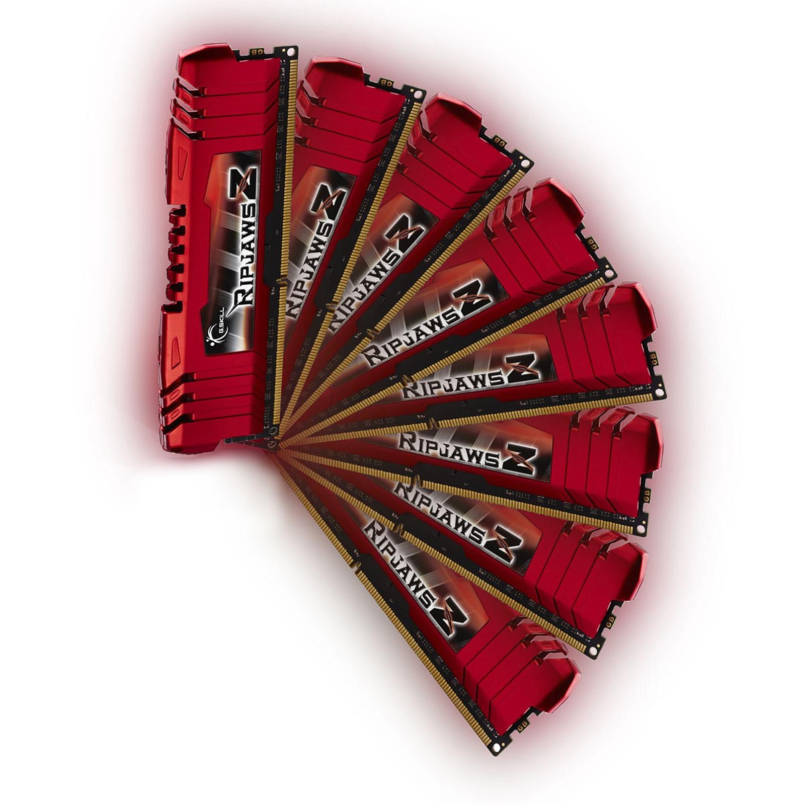 G.Skill RipJaws Z Series 32 Go (8 x 4 Go) DDR3 2133 MHz CL11