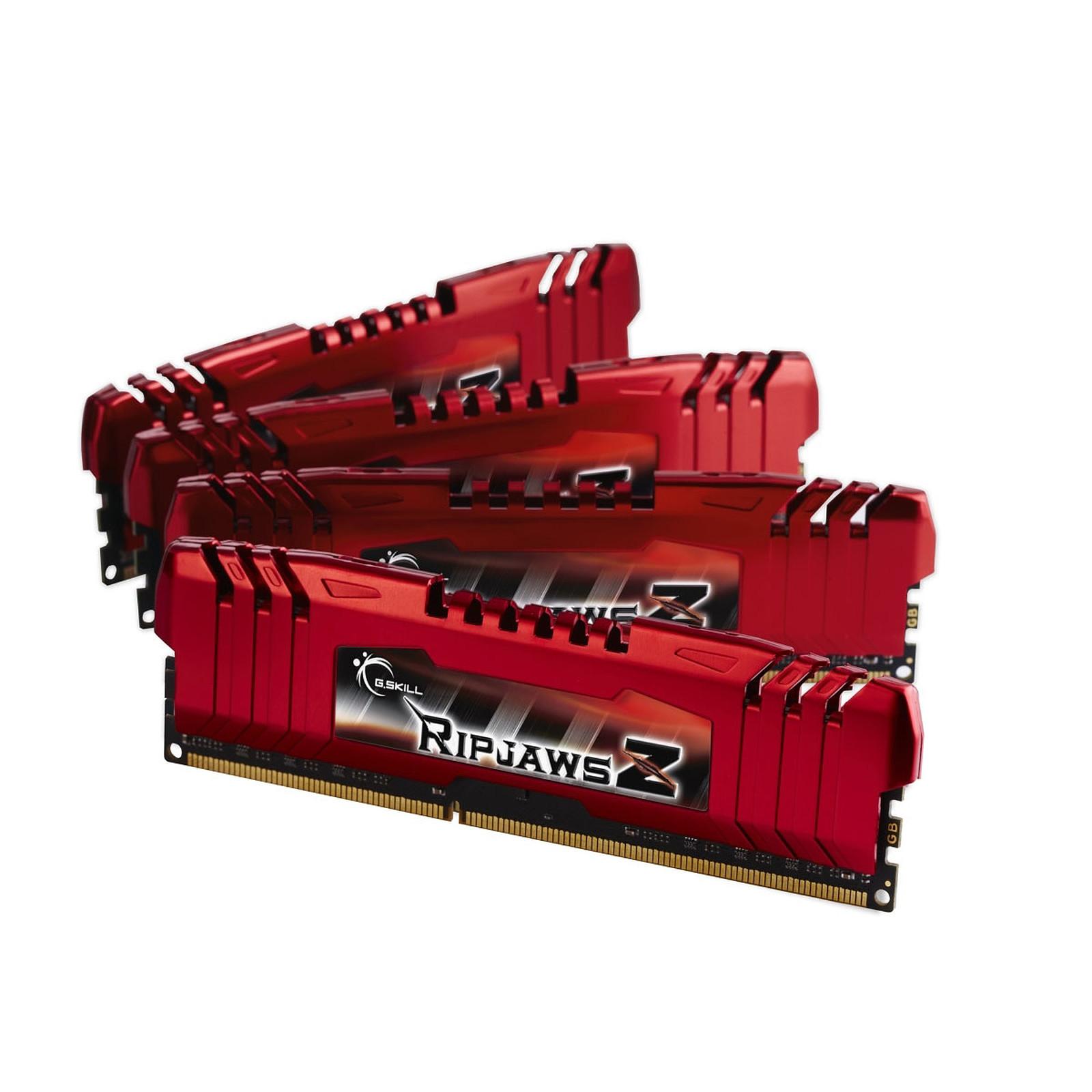 G.Skill RipJaws Z Series 32 Go (4 x 8Go) DDR3 1600 MHz CL10