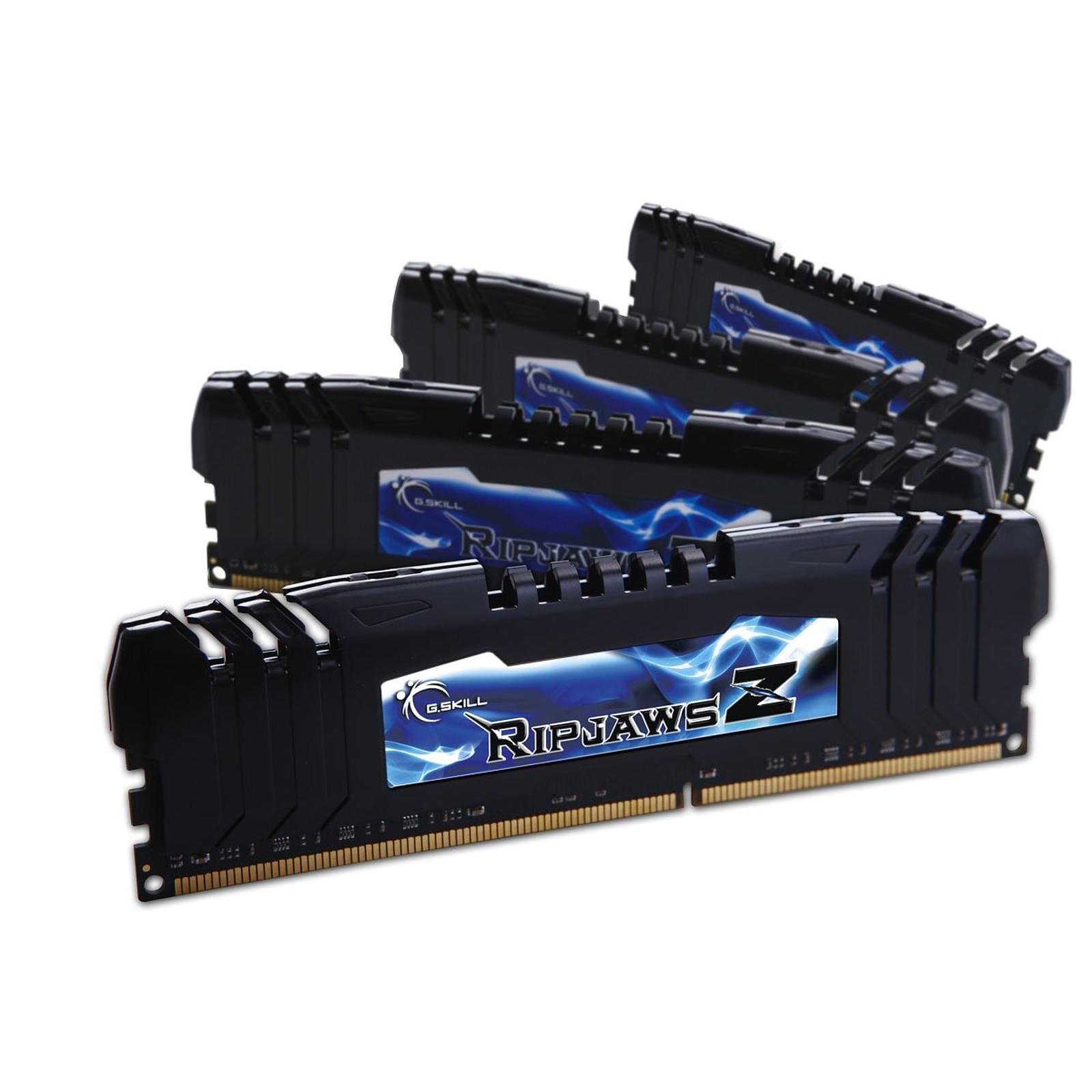 G.Skill RipJaws Z Series 8 Go (4 x 2Go) DDR3 1600 MHz CL8
