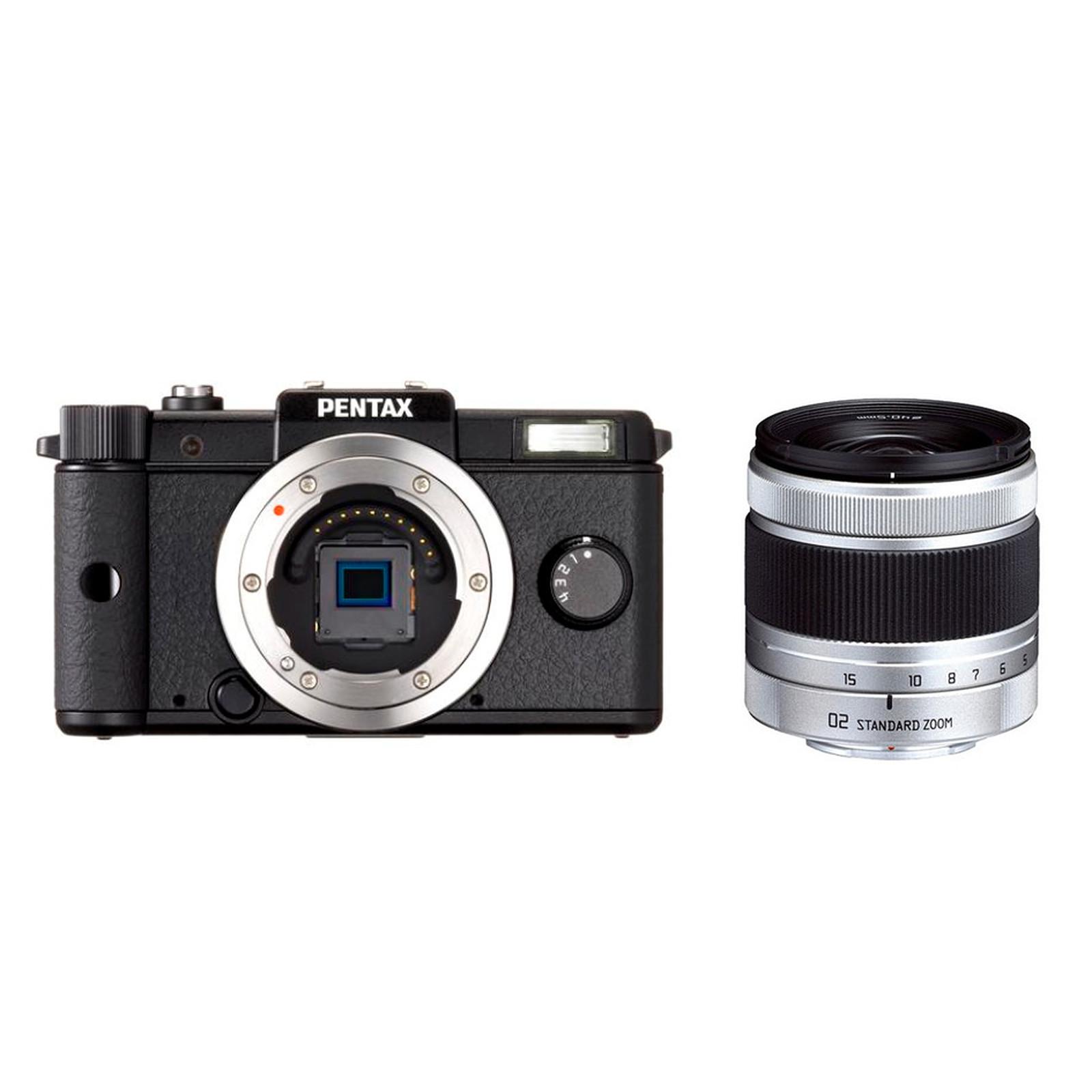 Pentax Q Noir + Objectif  5-15mm f/2.8-4.5