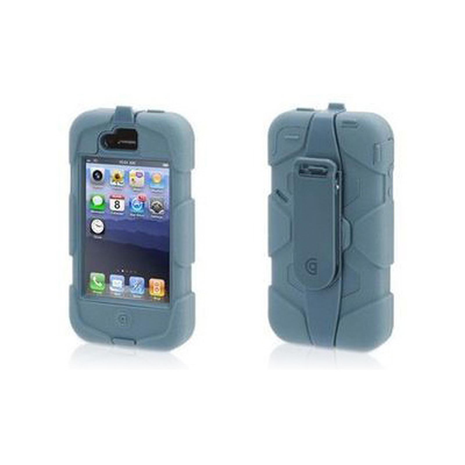 Griffin Survivor Bleu/Gris - Coque téléphone Griffin Technology ...