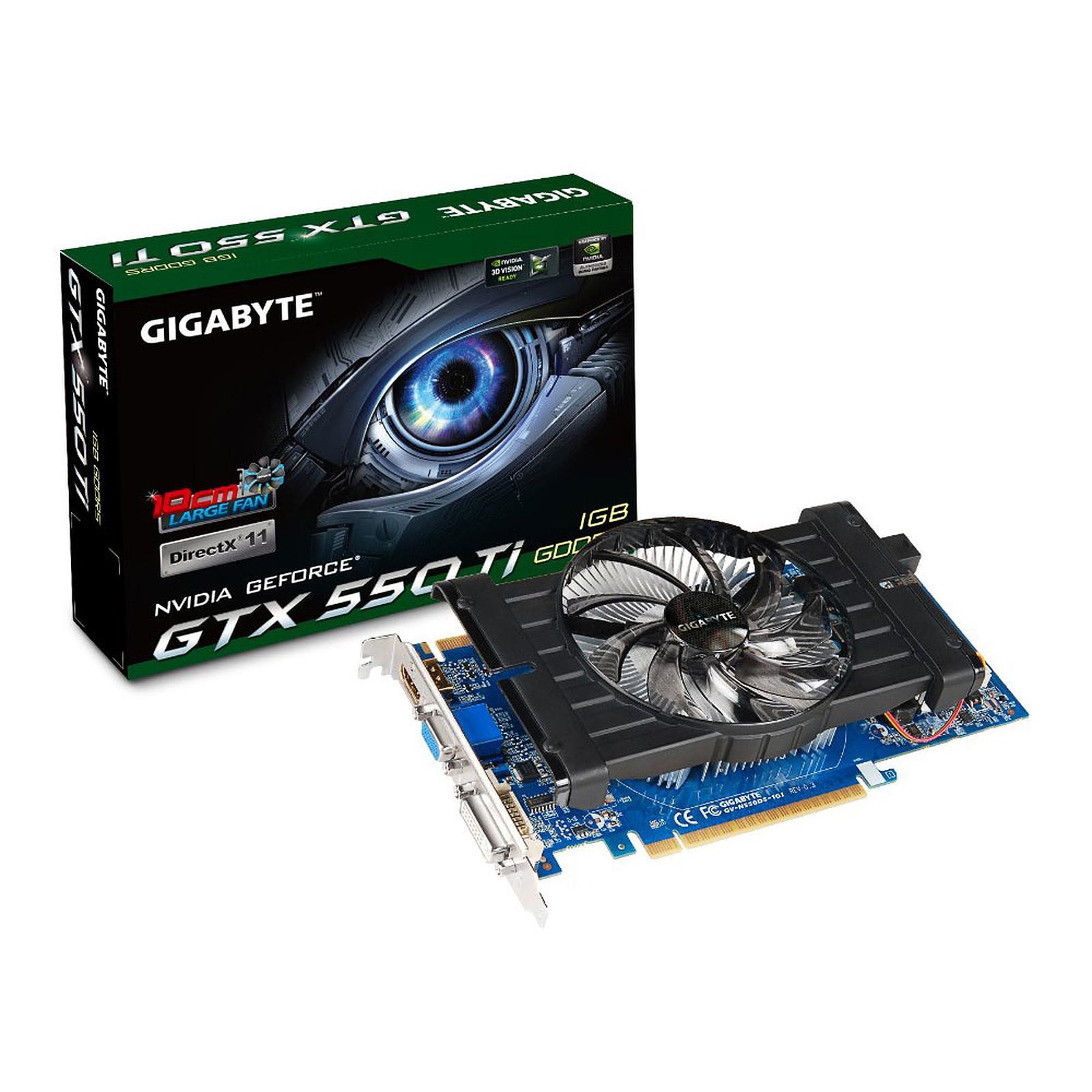 Gigabyte GV-N550D5-1GI GTX 550 Ti 1 Go