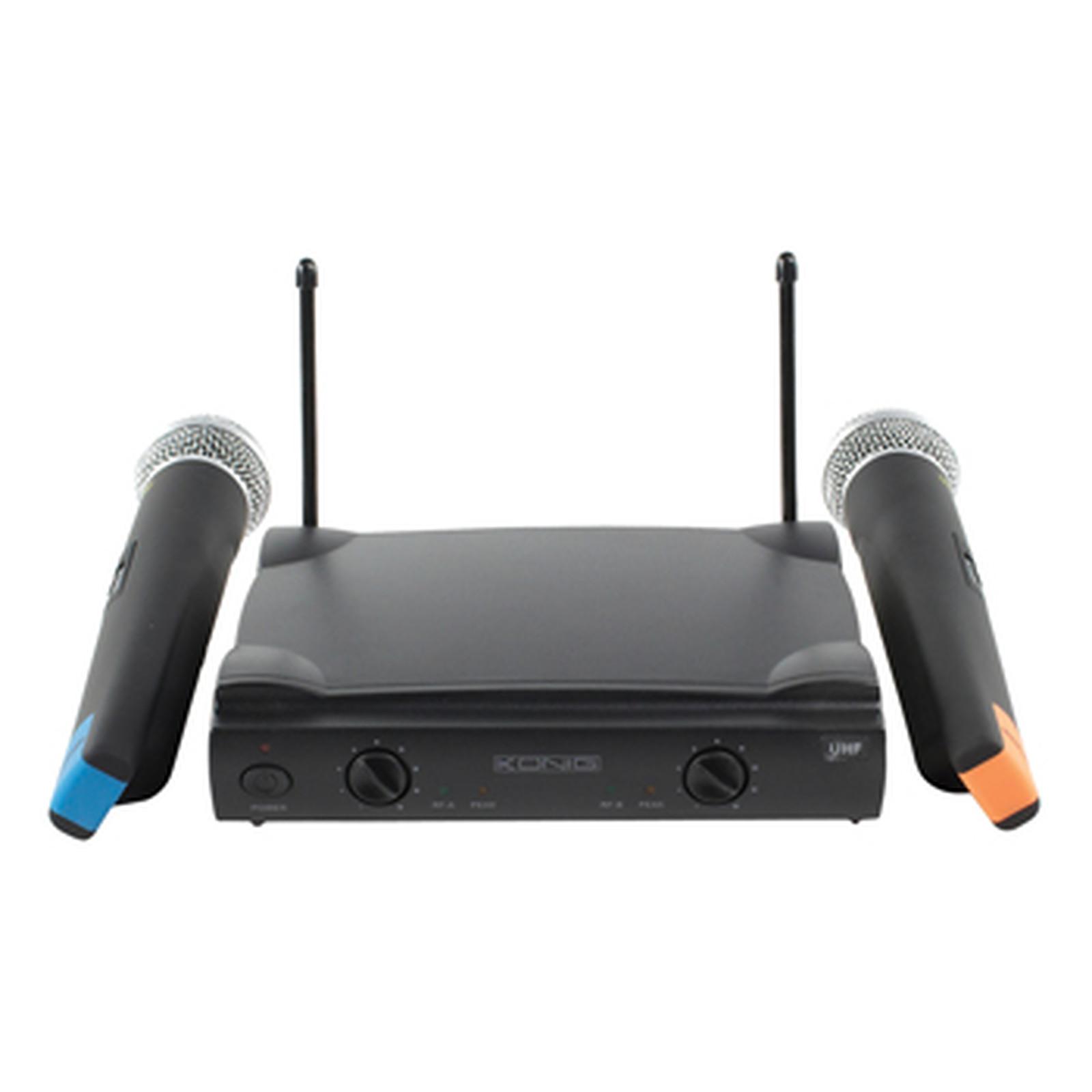 König Wireless Microphone System Duo