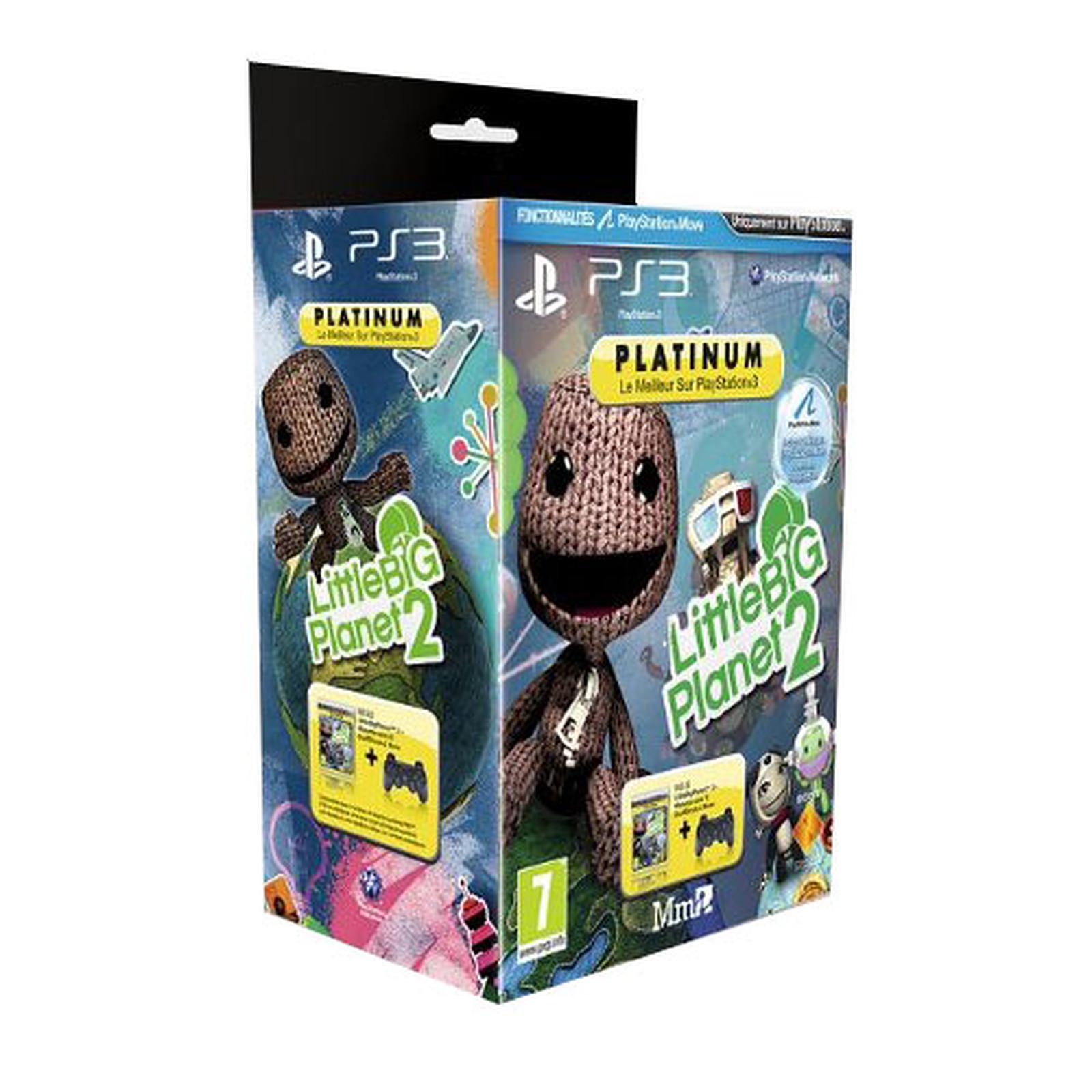 Sony DualShock 3 + Little Big Planet 2 - Platinum (PS3)