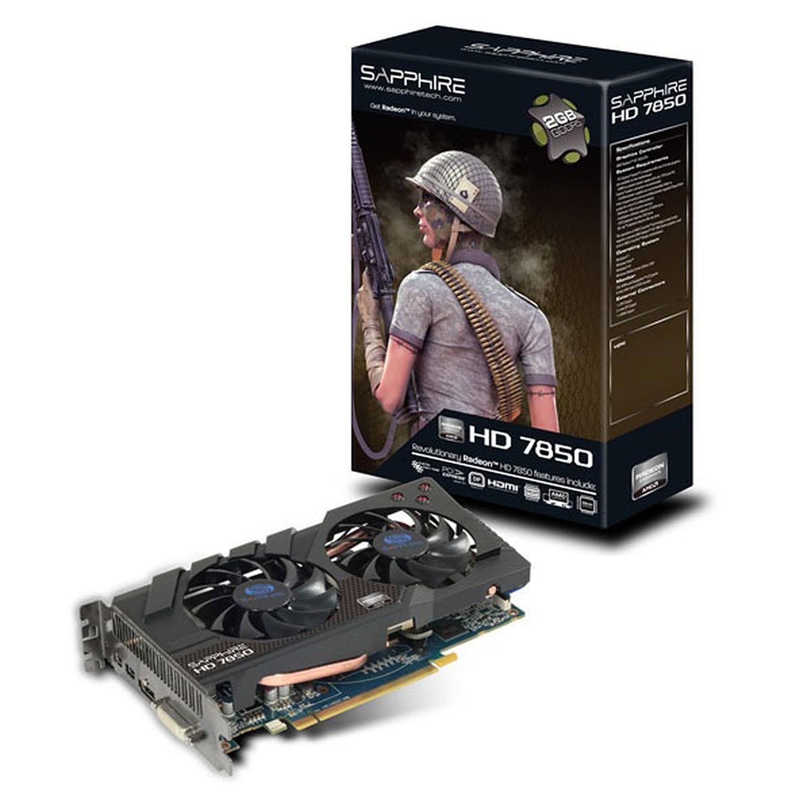 Sapphire Radeon HD 7850 2 Go