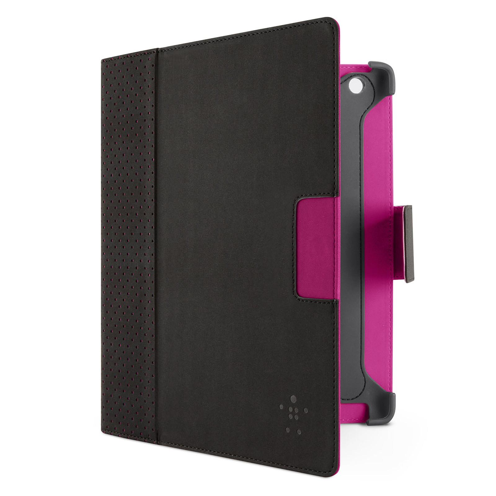 Belkin Cinema Dot pour le Nouvel iPad et l'iPad 2 (Noir/Violet)